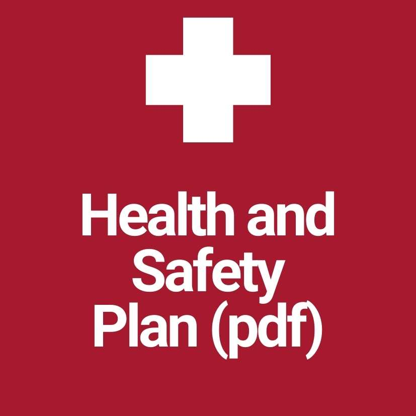 Health and Safety Plan (pdf)