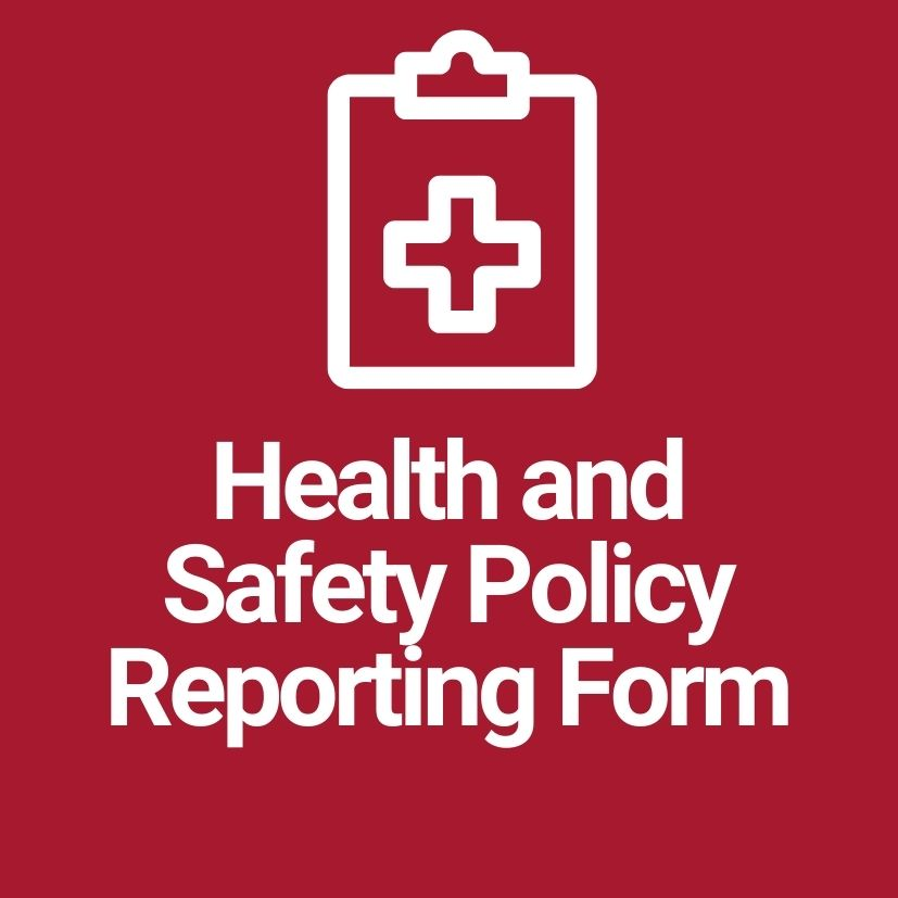 Health and Safety Reporting Form
