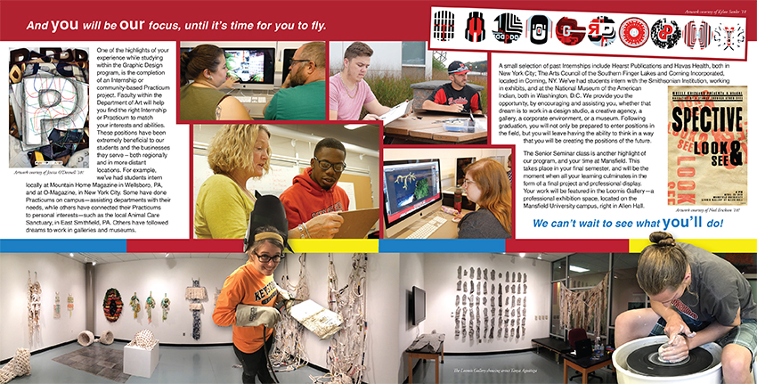 Graphic Design Brochure Interior