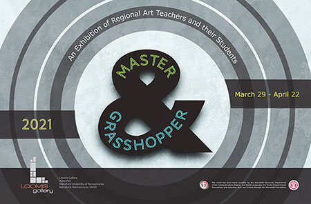 Image of Master and Grasshopper Exhibition 2021 Poster, 450px