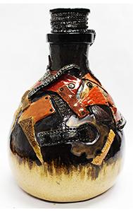 Image of Miranda Rogers' Steampunk Vessel, Stoneware with cone 6 Glaze