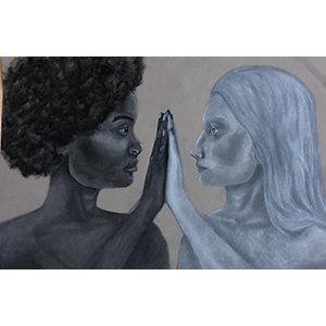 Image of Mariessa Watson's Equality, Charcoal