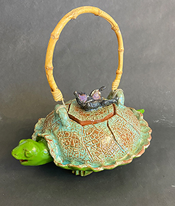 Image of Alessia Manesis' Turtle Teapot, Clay