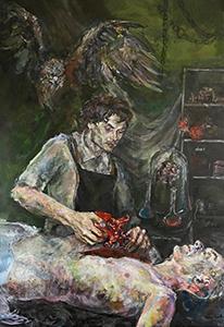 Image of Honey Smith's Modern Prometheus, Acrylic on Canvas
