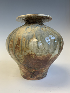 Image of Josie Lau's Wood Fired Coil Pot, Stoneware