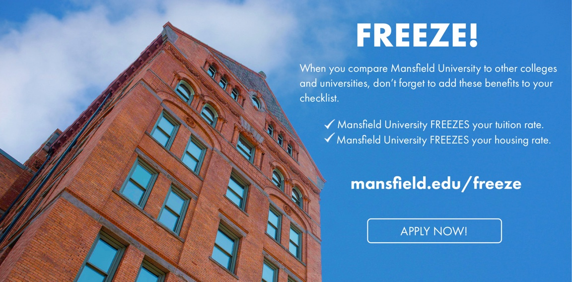 FREEZE at Mansfield University
