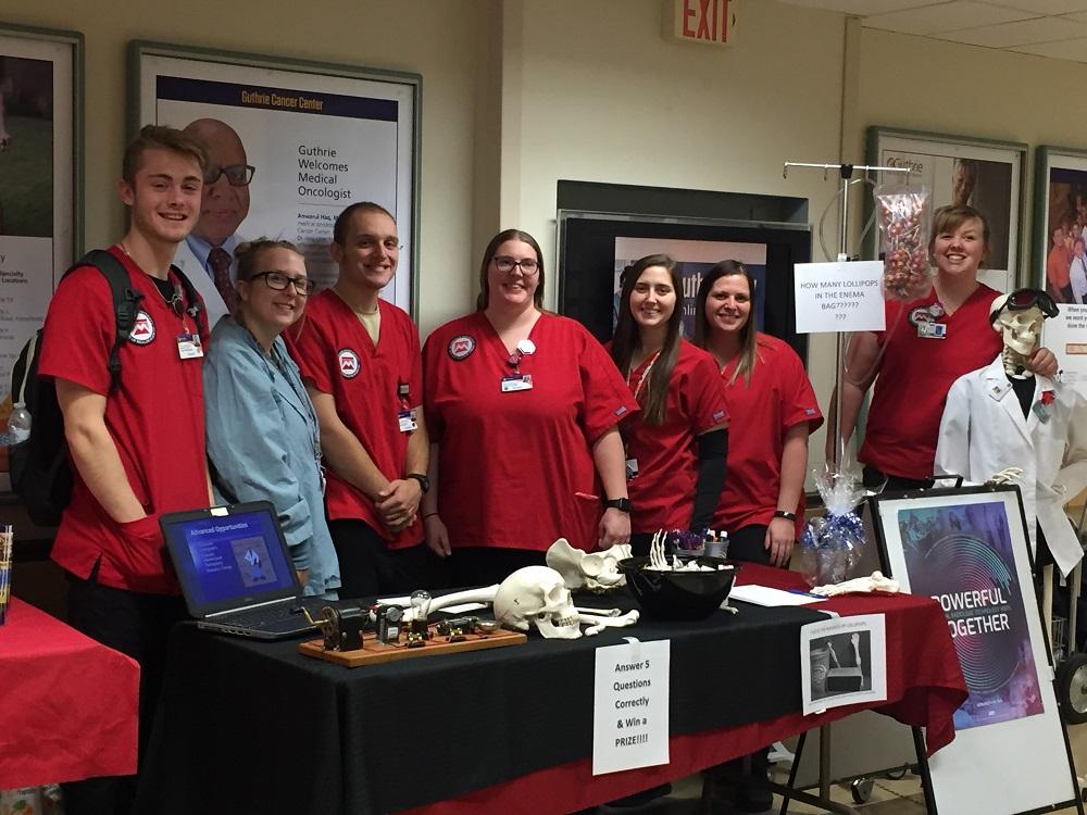 Radiologic Technology Students group photo