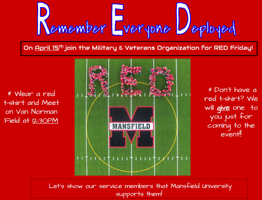 RED Friday 2016