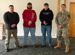 Military-Veteran Student Organization Officers